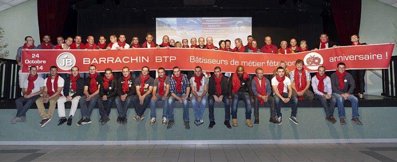 équipe Barrachin BTP