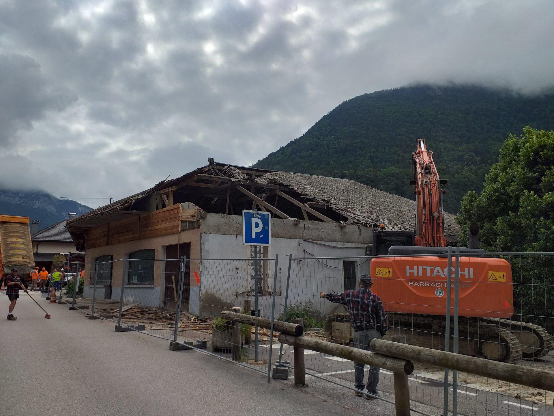 Démolition bar - La Balme de Thuy - Barrachin BTP