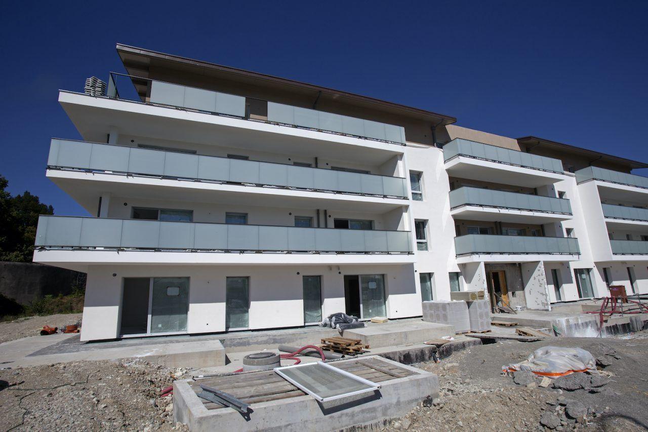 Jardin Cardinal à Annecy - construction Barrachin BTP