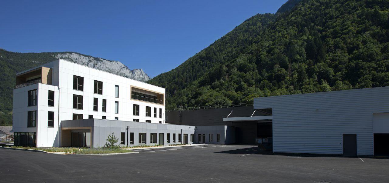 Siège de la Régie Electricité à Thônes - construction Barrachin BTP