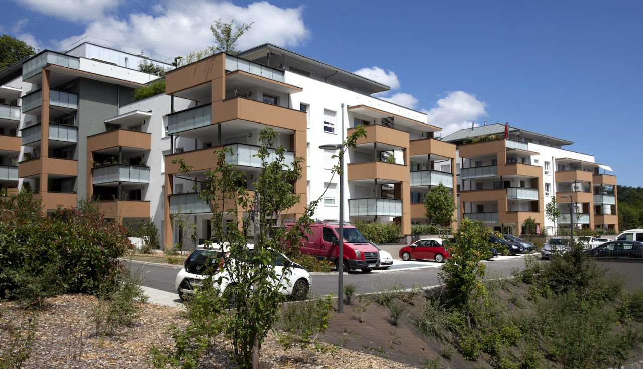 Urban Park à Seynod - construction Barrachin BTP