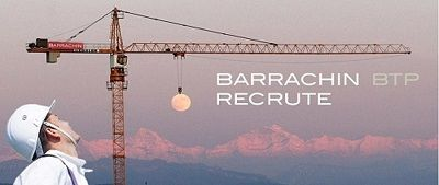 Recrutement Barrachin BTP