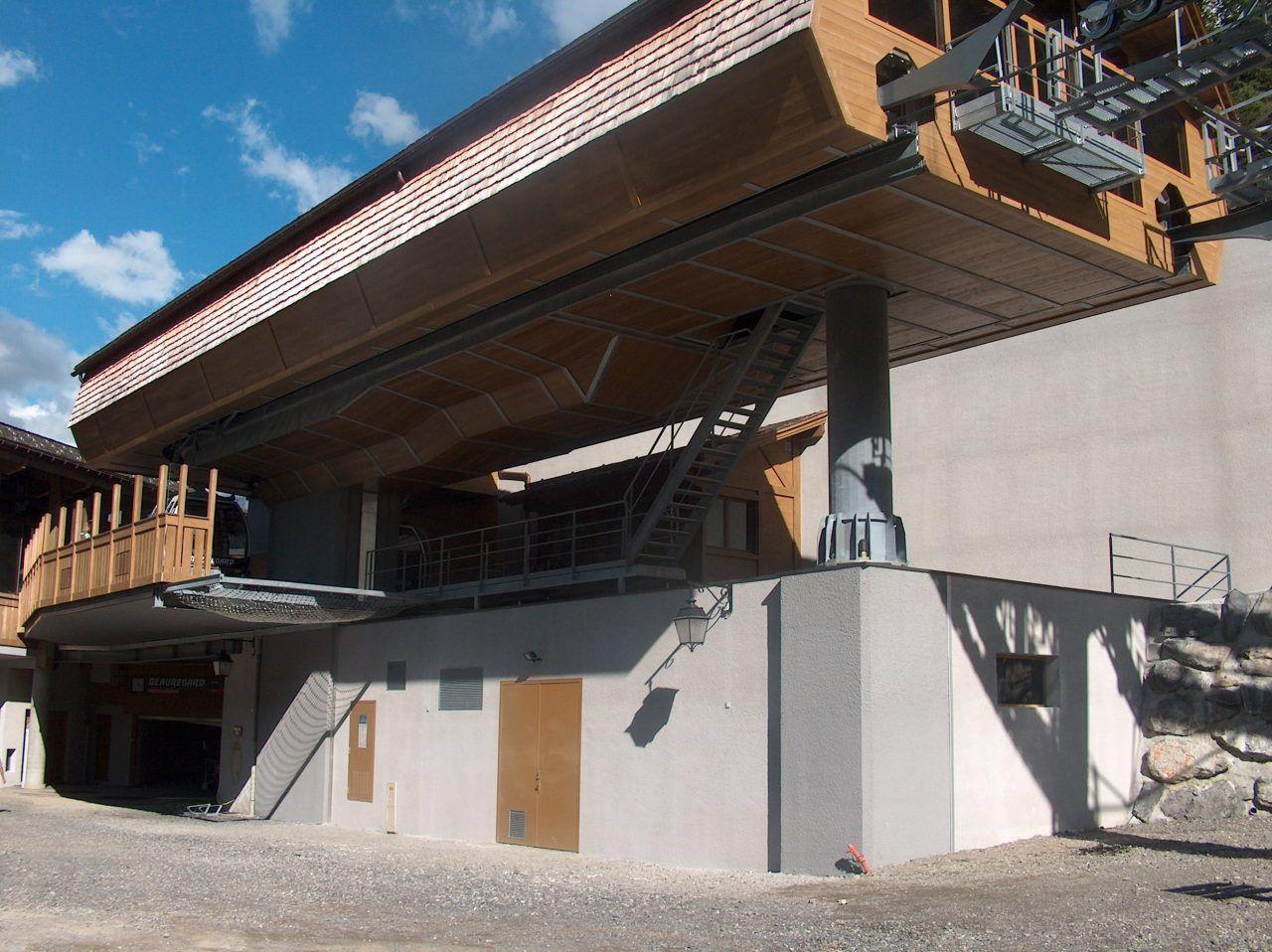 télécabine de beauregard la clusaz construction barrachin BTP